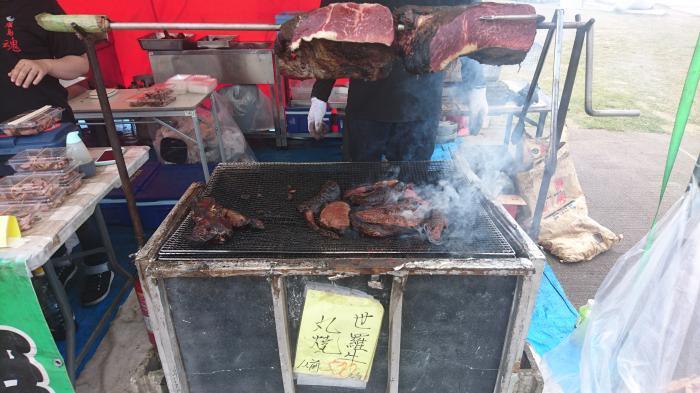 世羅名物!牛肉丸焼4