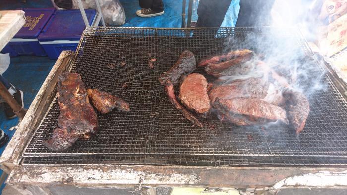 世羅名物!牛肉丸焼3
