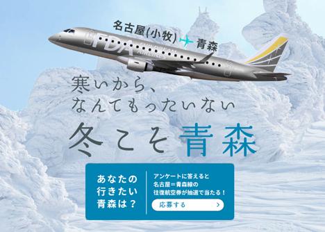 フジドリームエアラインズ(FDA)は、往復航空券が当たるアンケートを開催!