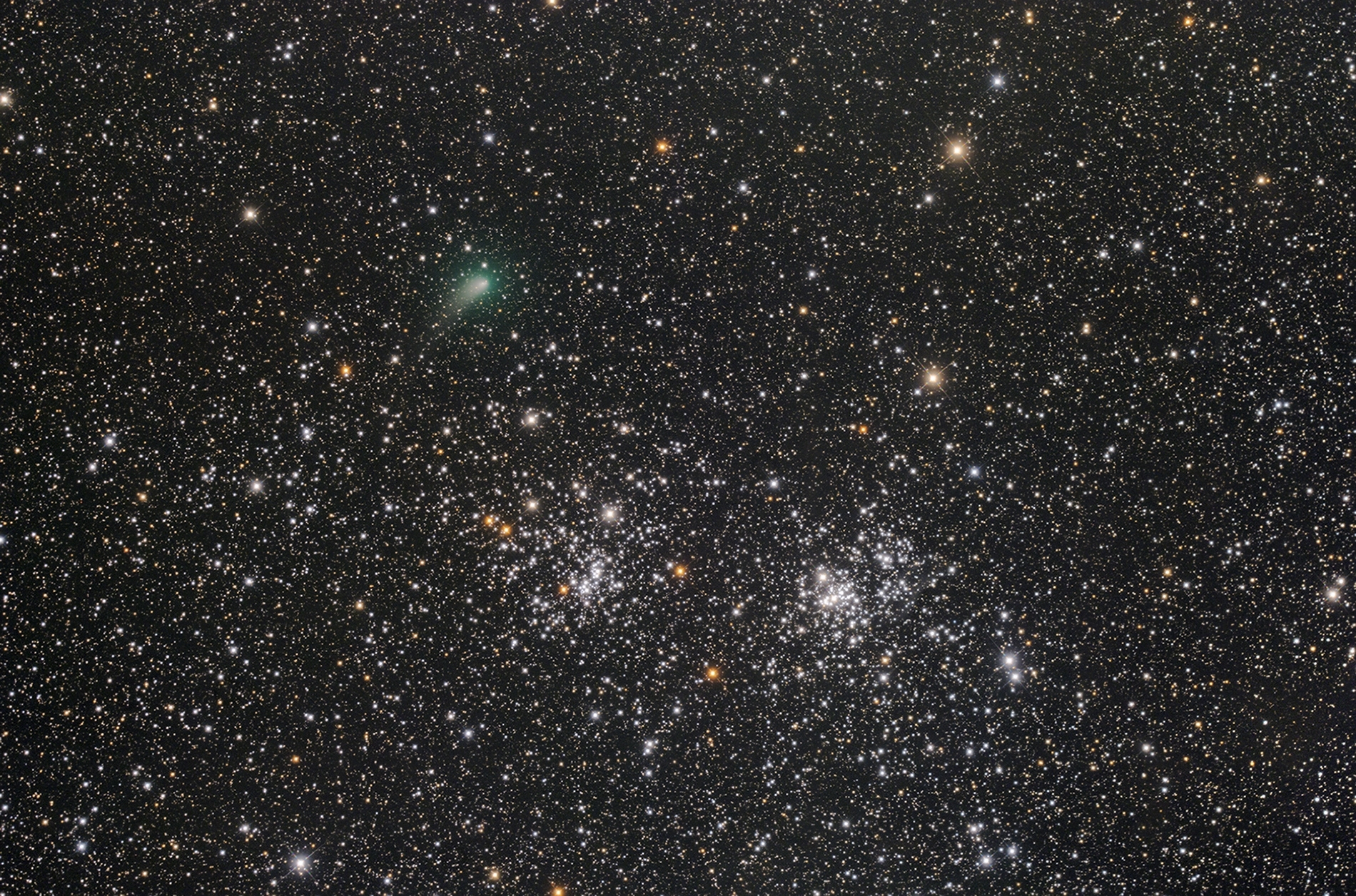 パンスターズと二重星団ブログ