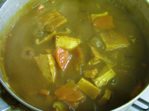 223  カレー煮完成(1)