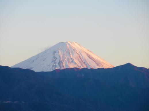021  夕暮れの富士山(1)