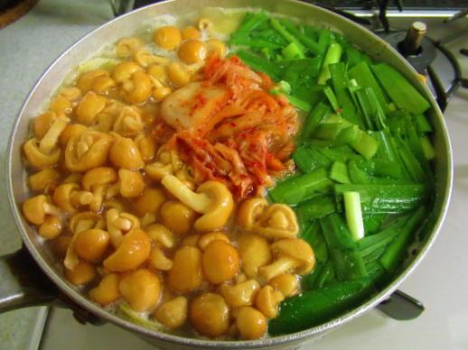223  豆腐キムチチゲ完成(1)