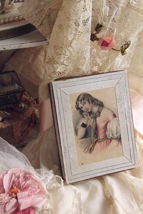 フランスアンティーク紙箱