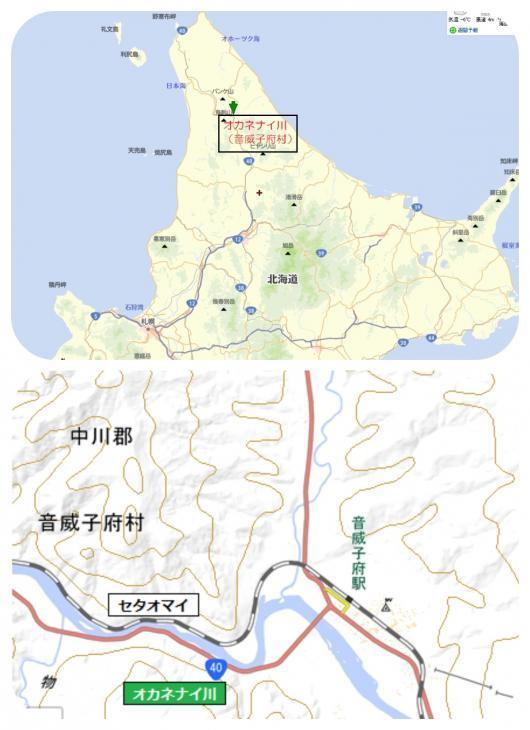 3オカネナイ川(音威子府村)1