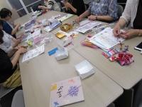 韓国観光公社 コリアプラザ ポジャギ教室