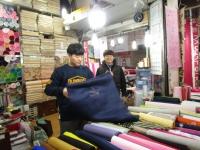 ソウル 広蔵市場 双子の店 テグァン