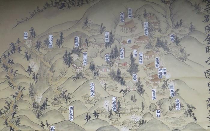 金勝寺古地図