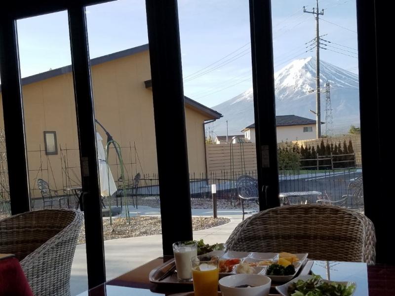 ゆめ富士の朝食