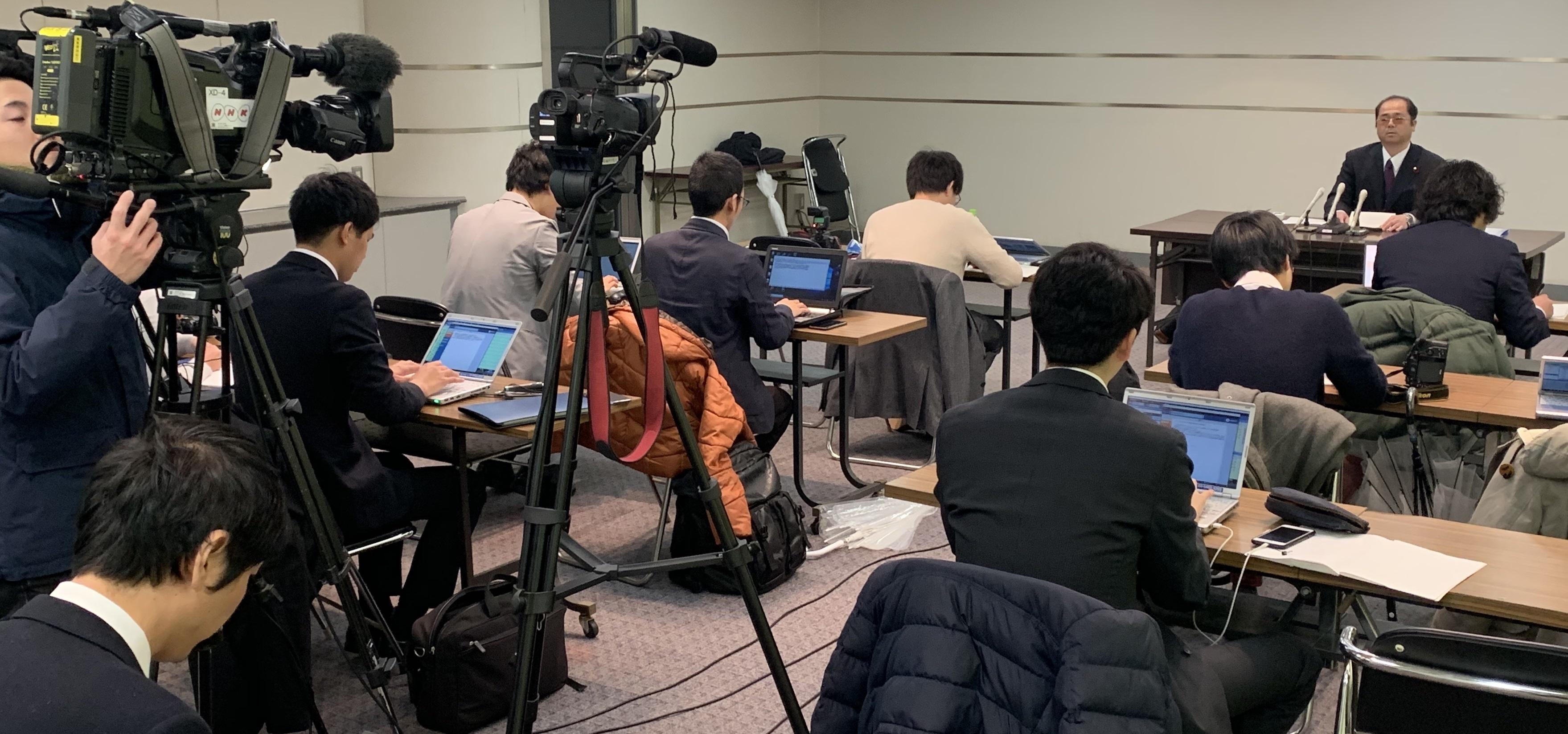 池田中事件・検察審査会の会見
