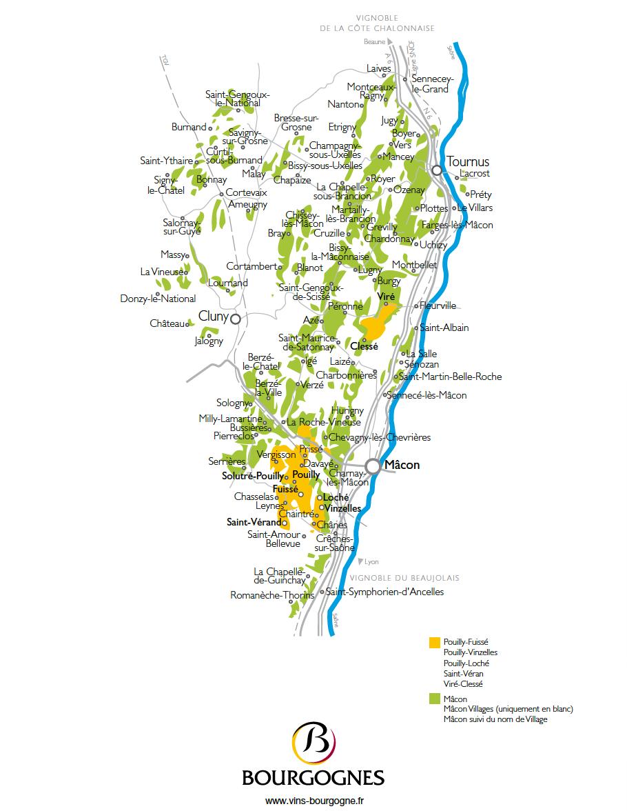 Bourgogne_Mâconnais_map1
