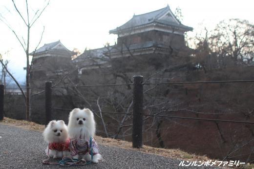 斜めから上田城