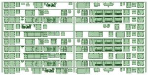修正KK80-01 8000形未更新車(8005F仕様)床下機器