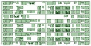 修正KK80-02 8000形更新車(8006F仕様)床下機器