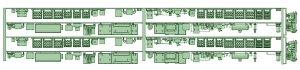 ND35-02 3500系床下機器 冷改後仕様 2編成セット
