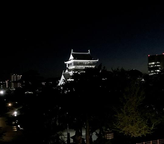 小倉城夜景