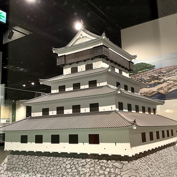 小倉城模型