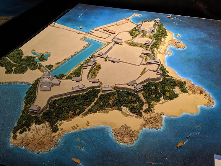 20串崎城模型