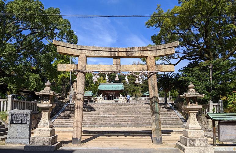 22忌宮神社