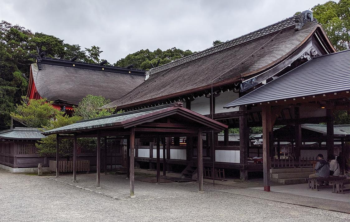 1宗像大社拝殿2