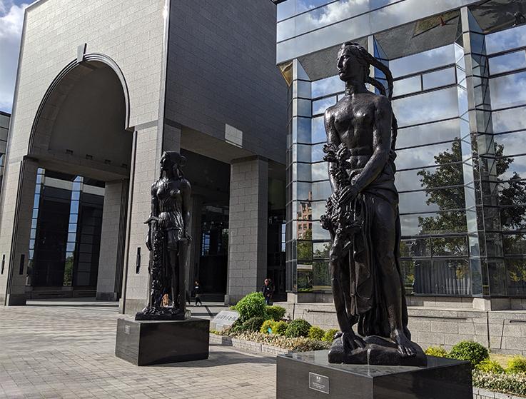 1福岡市博物館入口