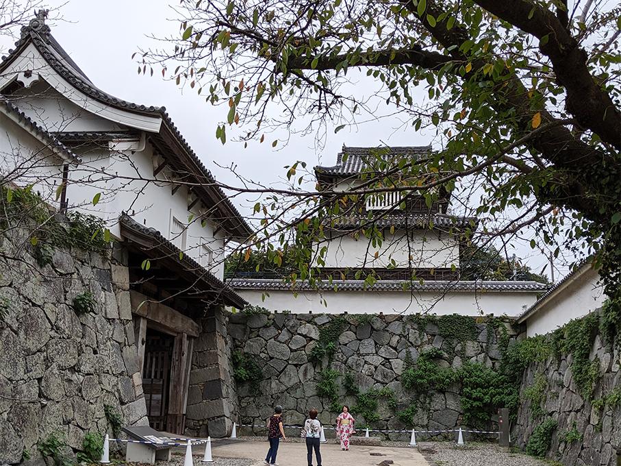 3福岡城下之橋御門と潮見櫓2