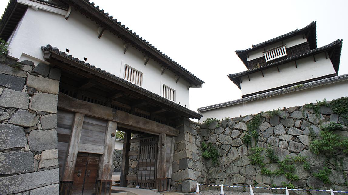 3福岡城下之橋御門と潮見櫓