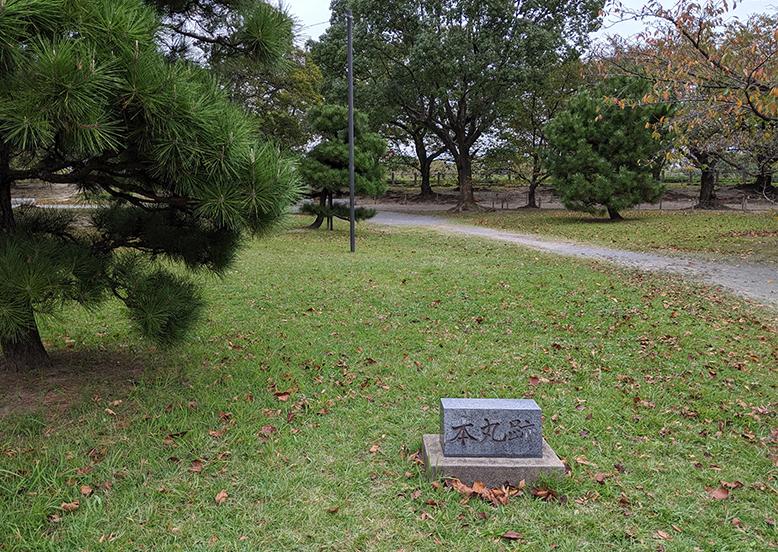 3福岡城本丸跡