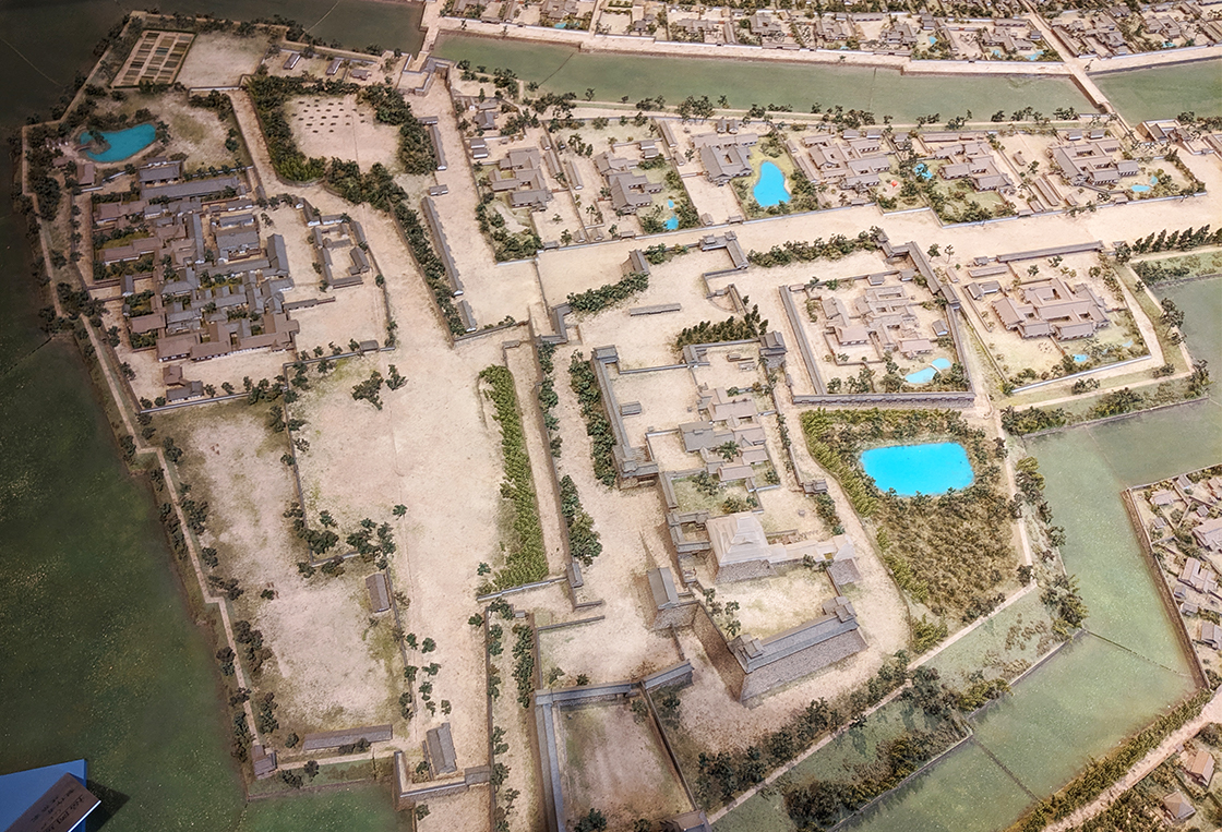 3福岡城むかし探訪館模型
