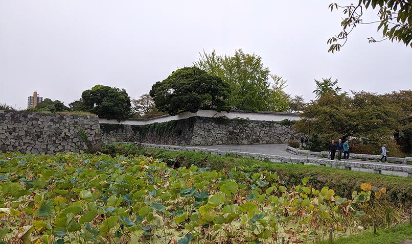 3福岡城上之橋御門