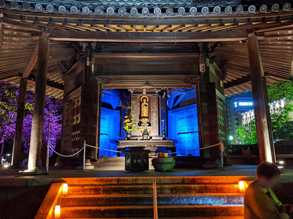 7東長寺六角堂
