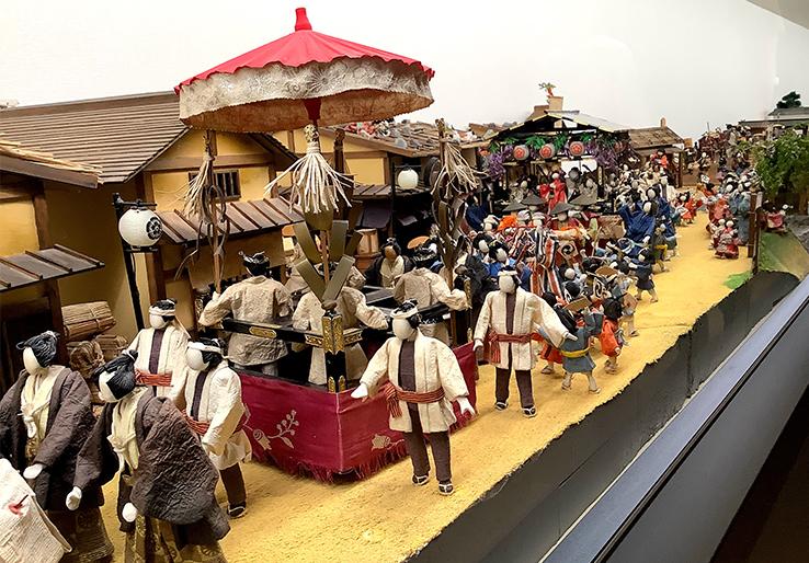 小倉城のミニチュア