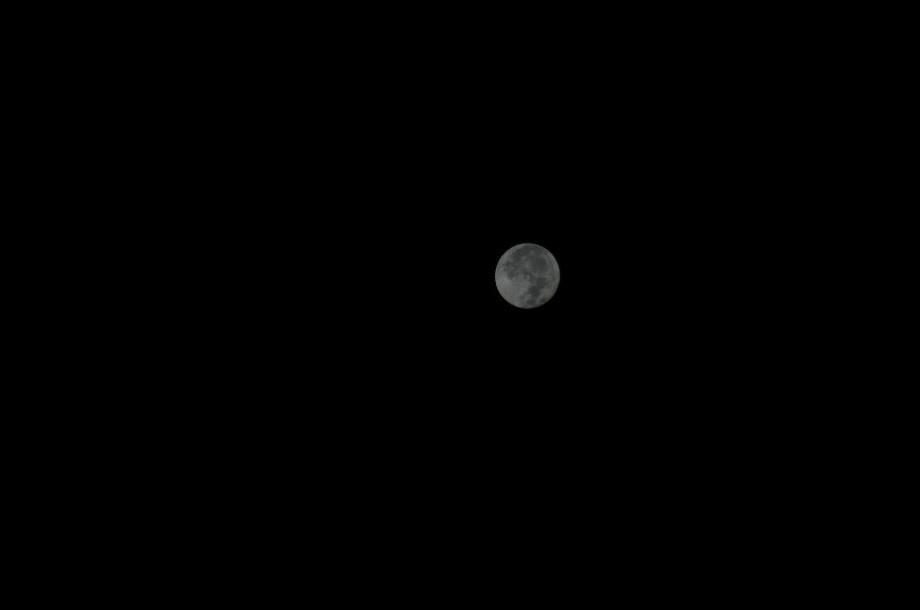 20190915午前4時頃の月