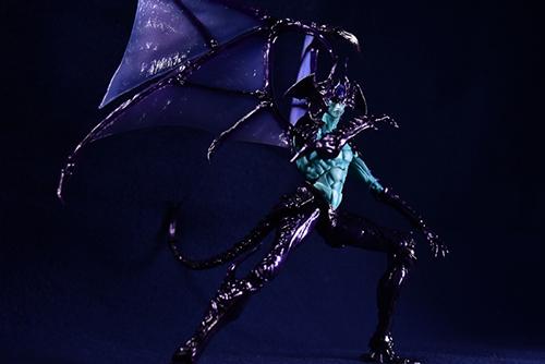 ツバキアキラが撮った、韮沢靖さんデザインのヴァリアブルアクションヒーローズ デビルマン Ver.Nirasawa2016。