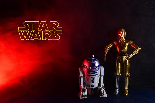 C-3POとR2-D2が我が家にぃぃぃっっっ!