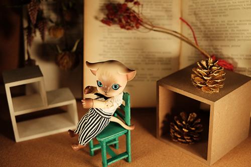 ISLAND DOLL・Luo LuoのRicky。クリスマスに駆け込むように、我が家にやって来てくれました。