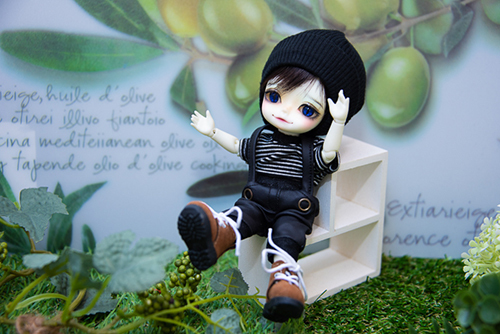 WITHDOLL、Halloween Limited Edition / Black Cat / Butler Pookyのキオ。ニコニコしていて、ホント〜に元気くんなキオです。