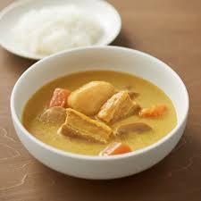 素材を生かした 厚切りベーコンのスープカレー