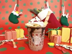 サンタブーツ チョコレート フラペチーノ