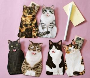 猫の舌しまい忘れポチ袋