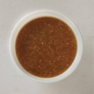 あめ色たまねぎのオニオングラタン風スープ