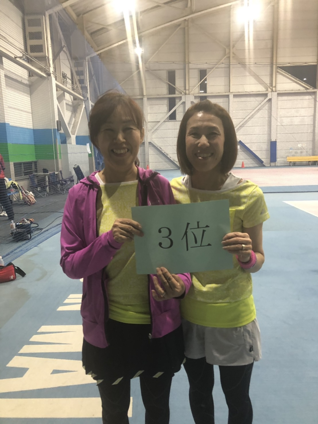 ニッコーレディースダブルス大会20191027その4