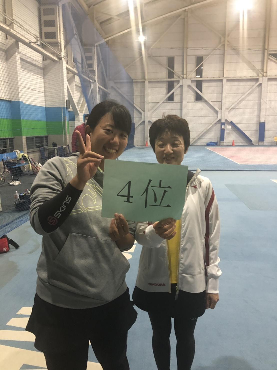 ニッコーレディースダブルス大会20191027その3