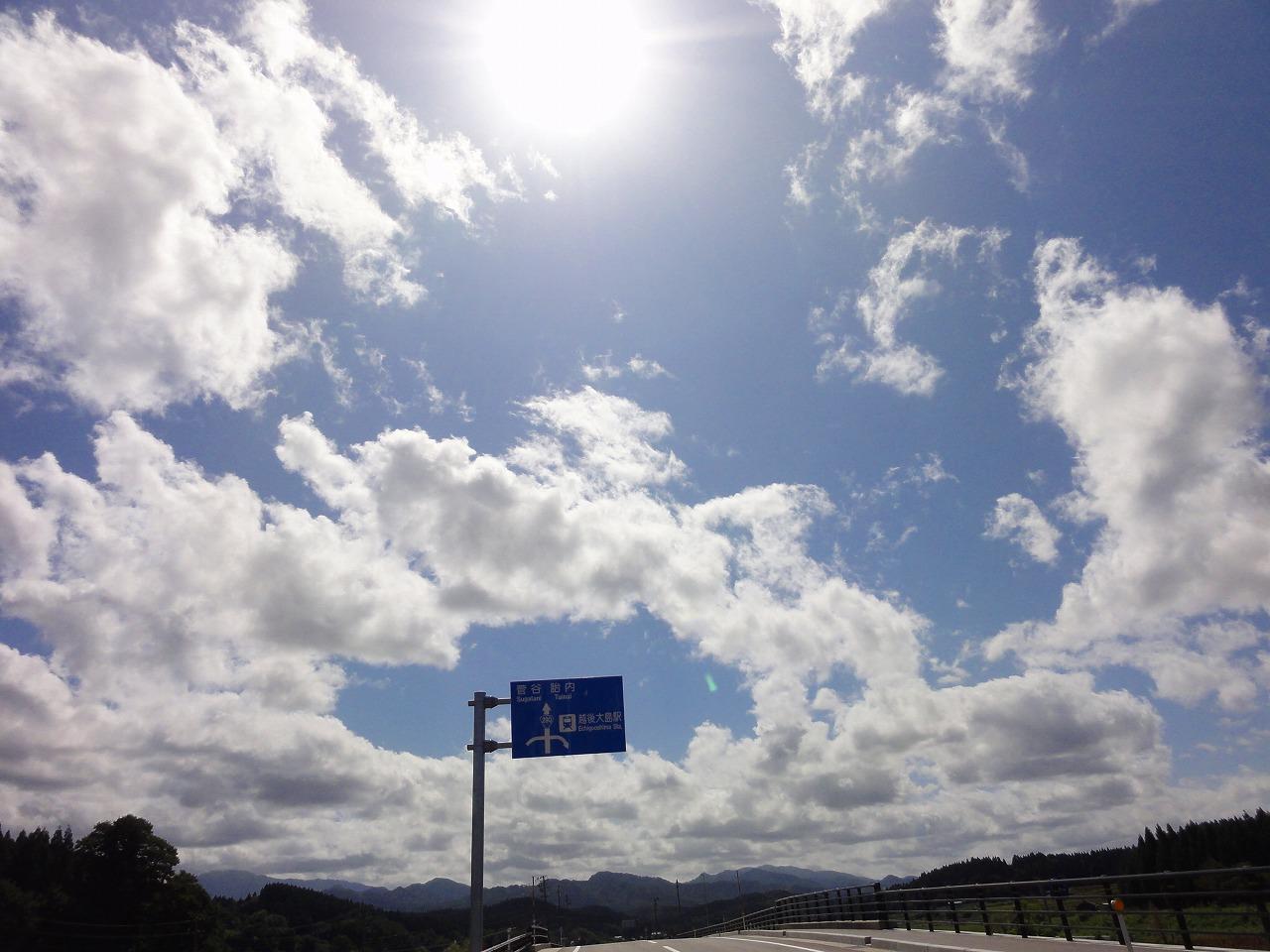 ひさしぶりのキャンプツーリング(新潟)