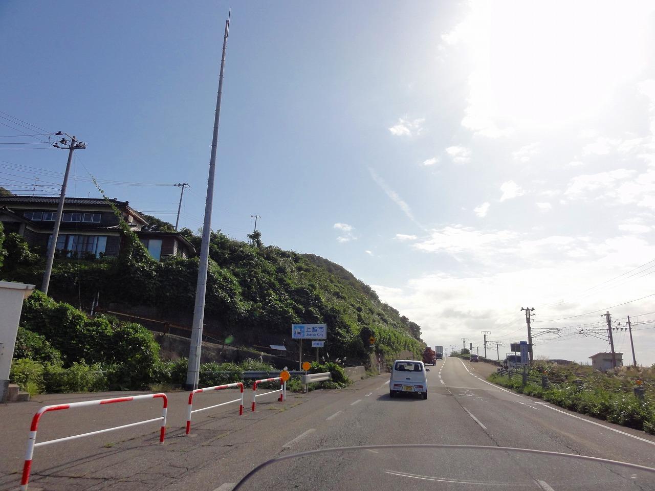 ひさしぶりのキャンプツーリング(柏崎)