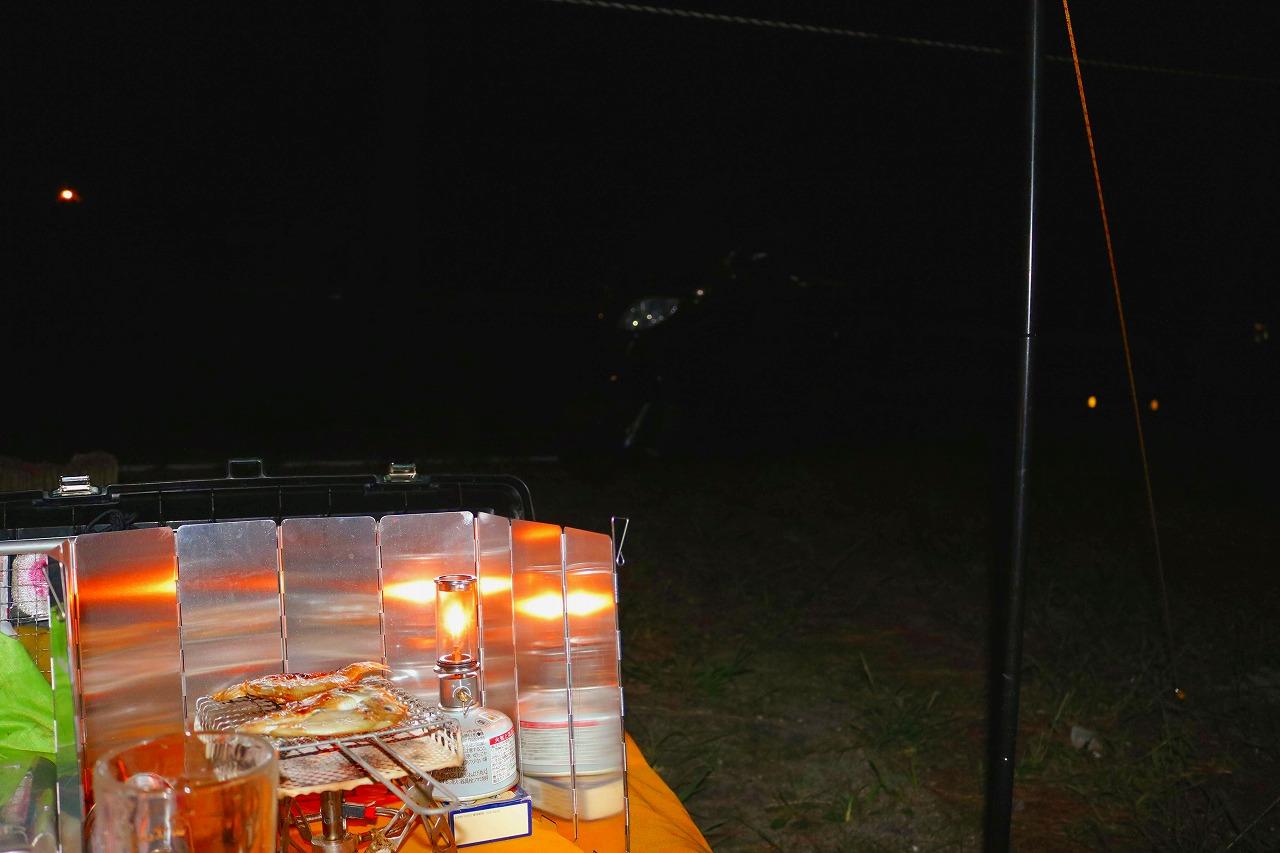 ひさしぶりのキャンプツーリング(園家山キャンプ場)