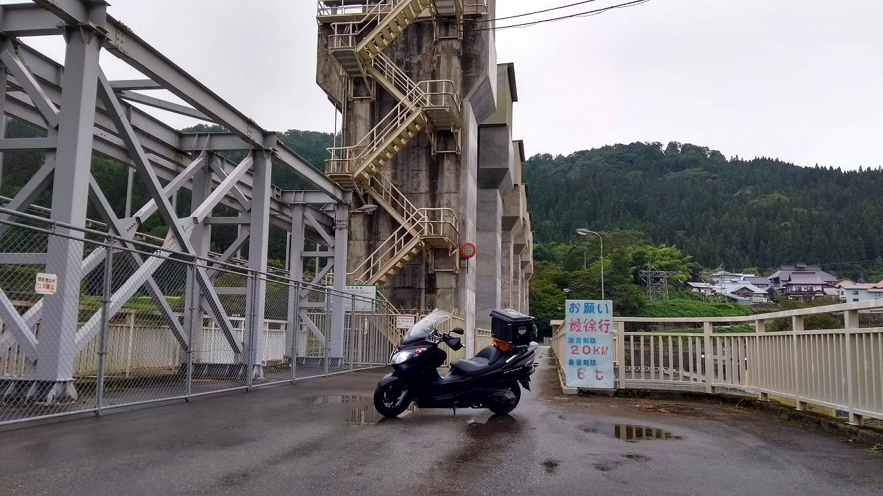ひさしぶりのキャンプツーリング(柳津ダム)