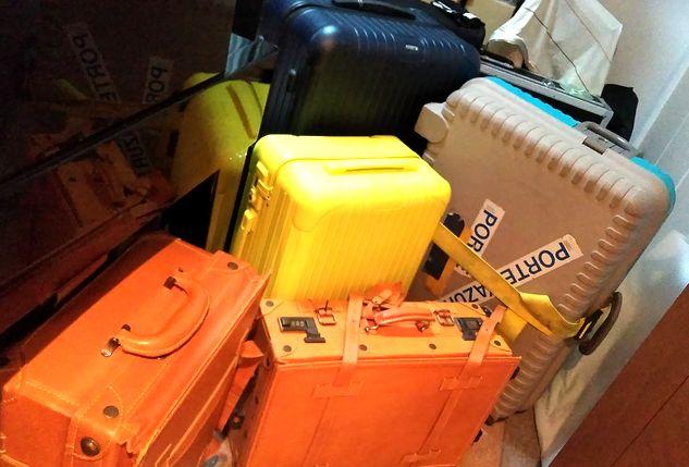 歴代スーツケース