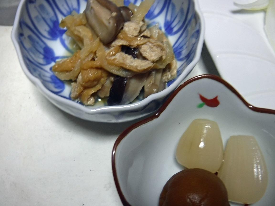 ブログ 夕食  ユーリンジィの副菜.jpg