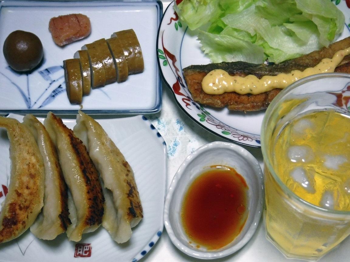 ブログ 夕食 サーモンのムニエル定食.jpg
